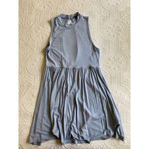 Forever 21 Periwinkle Open Back Summer Mini Dress